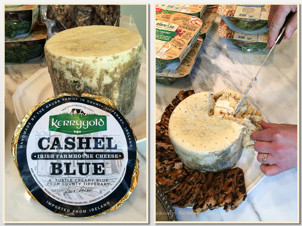 Kerrygold Cashel Blue Cheese; A Magical Night in Venice Beach; © 2016 Jane Bonacci, The Heritage Cook