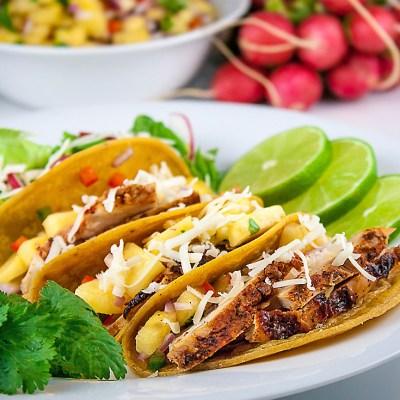 Chicken Tacos al Pastor (Gluten-Free)