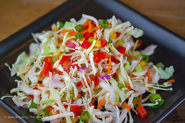 One slaw, 3 dressings - Make it your way; © 2016 Jane Bonacci