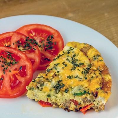 Cheesy Breakfast Frittata (Gluten-Free)