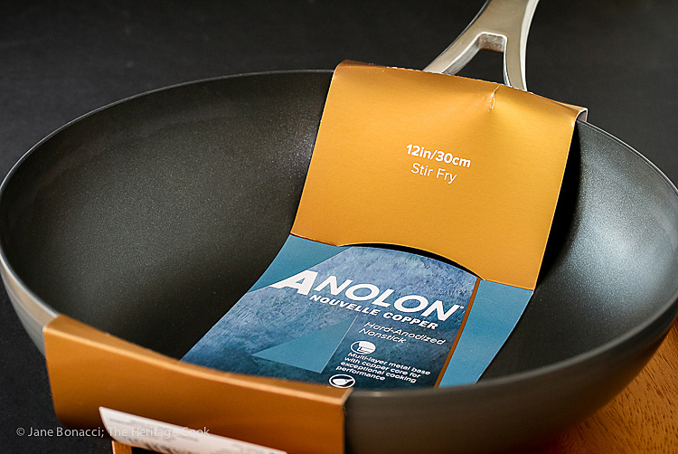 Win this Anolon Nouvelle Copper 12-inch Stir Fry pan! General Tso Chicken from Phoenix Claws and Jade Trees by Kian Lam Kho and courtesy of Anolon; 2016 Jane Bonacci, The Heritage Cook