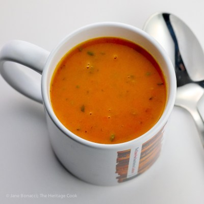 Gluten Free Healthy Carrot, Ginger, and Cumin Soup
