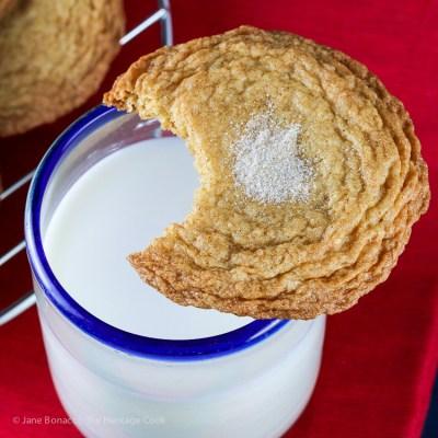 Addicting Gingerdoodle Cookies Recipe (Gluten Free option)
