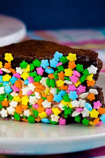 Port Brownie Ice Cream Sandwiches (Gluten-Free)
