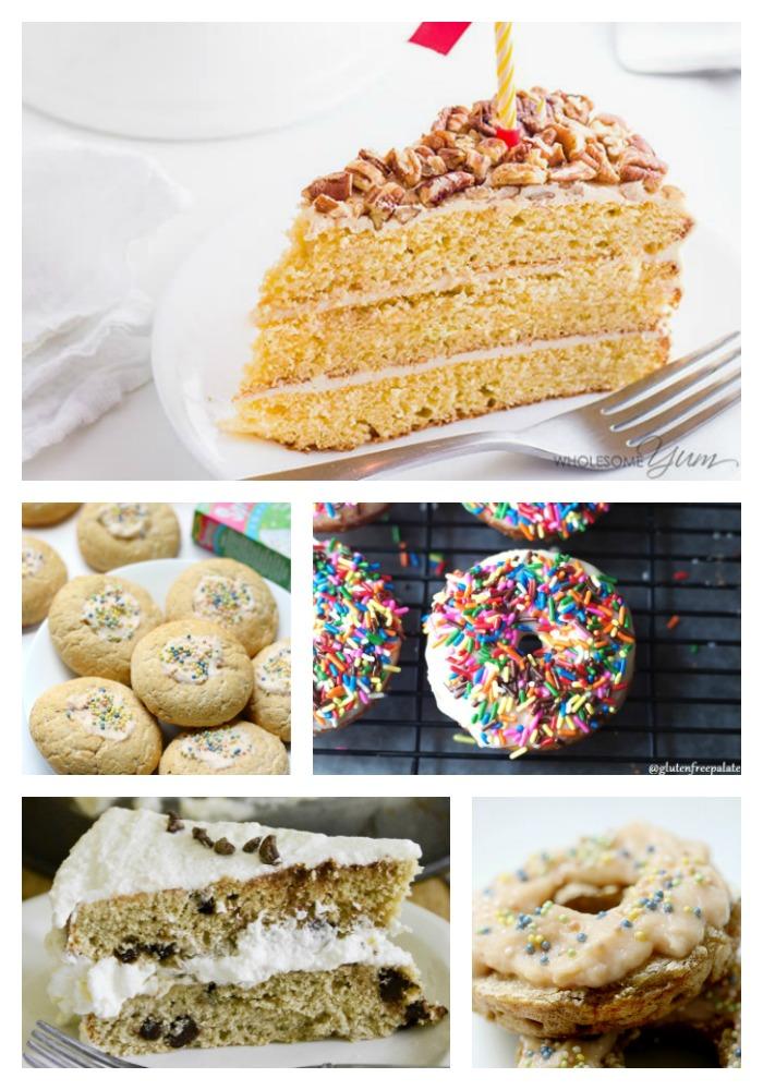 20 Birthday Celebrations Recipes Round Up © 2017 Jane Bonacci, The Heritage Cook