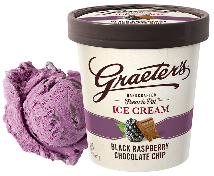 Graeter's Black Raspberry; National Ice Cream Month and Graeter's Giveaway; Jane Bonacci, The Heritage Cook