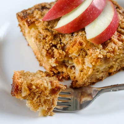 Apple Crumb Coffee Cake (Gluten-Free)