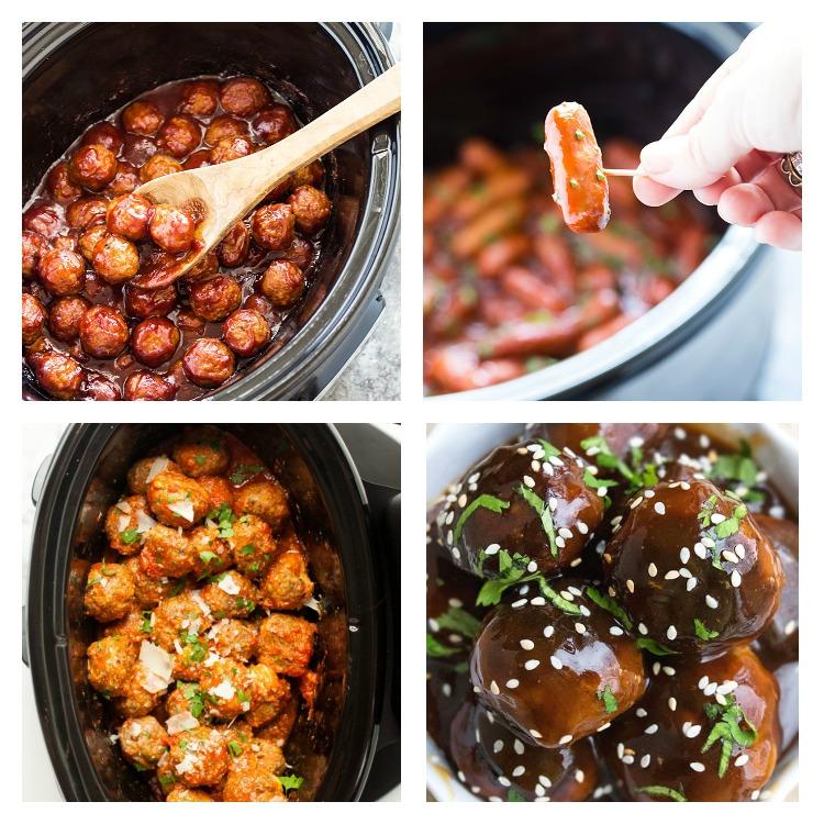 Fun Festive Holiday Appetizers, Cheese & Meatballs; Jane Bonacci, The Heritage Cook