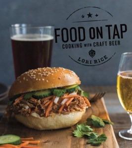 Cover of Food on Tap cookbook from Lori Rice