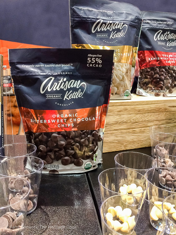 Artisan Kettle Chocolates; Walking the San Francisco Winter Fancy Food Show 2018 © 2018 Jane Bonacci, The Heritage Cook