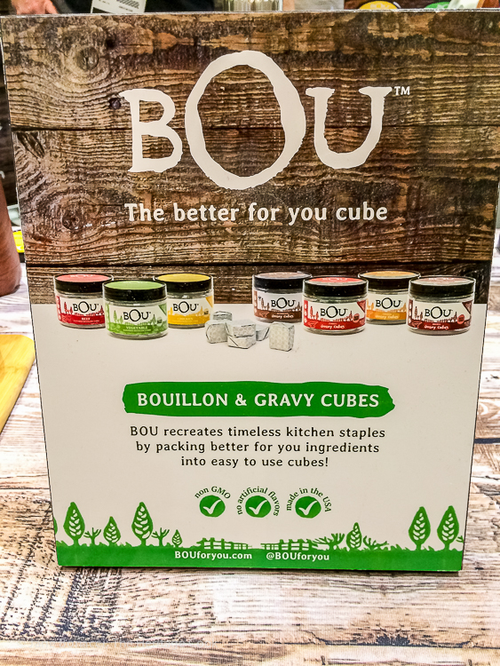 Bou for You; Walking the San Francisco Winter Fancy Food Show 2018 © 2018 Jane Bonacci, The Heritage Cook
