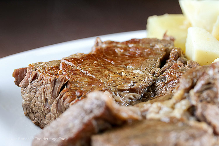 Instant Pot Chuck Roast with Potatoes and Carrots (Gluten-Free) © 2018 Jane Bonacci, The Heritage Cook; www.theheritagecook.com