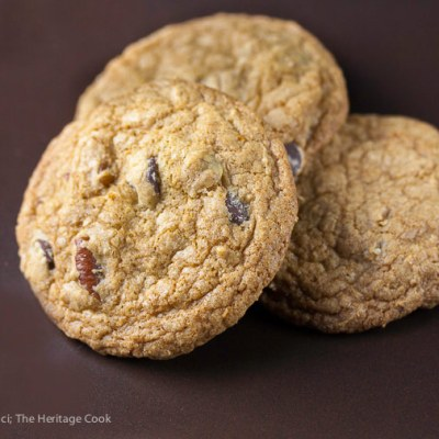 Orange Scented Gluten Free Chocolate Chip Cookies