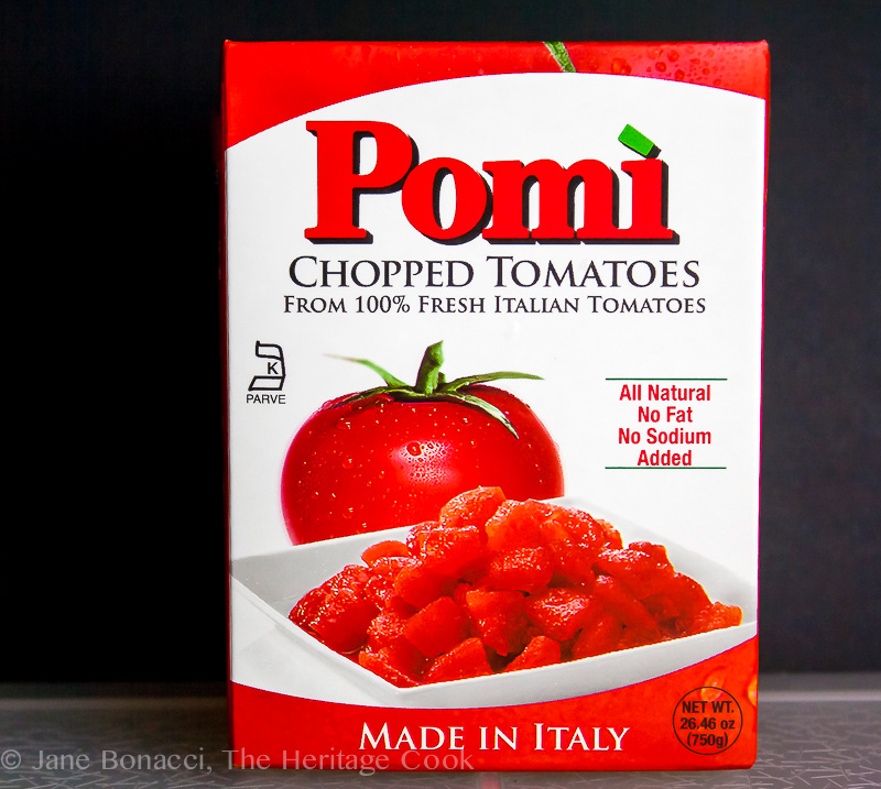Authentic Italian Pasta Sauce; Jane Bonacci, The Heritage Cook