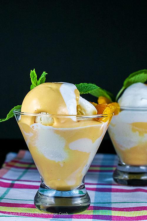 Orange Creamsicle Mousse Parfaits © 2018 Jane Bonacci, The Heritage Cook