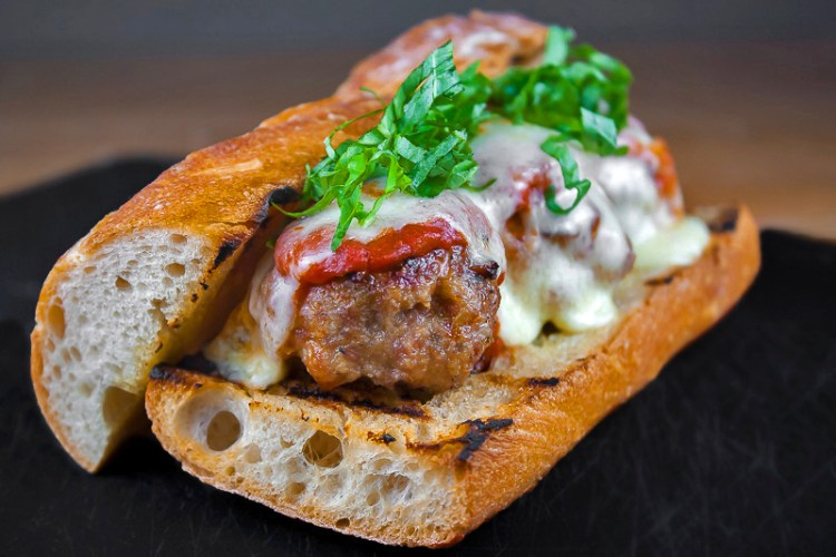 Grilled Meatball Hoagies; The 16 Best BBQ Recipes; compiled by Jane Bonacci, The Heritage Cook 2018