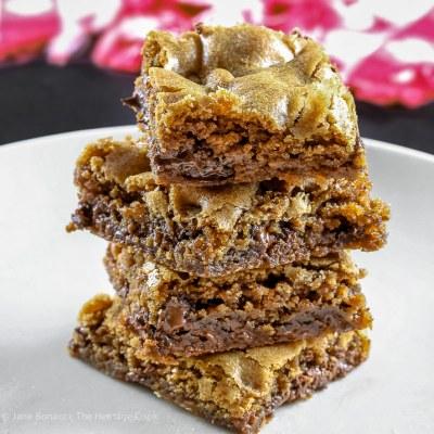 Super Easy Chocolate Chip Blondies (Gluten-Free)