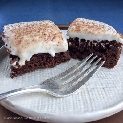 Brownies with Cheesecake Frosting (Gluten Free)