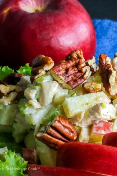 Rave Apple Chicken Salad (Gluten Free)