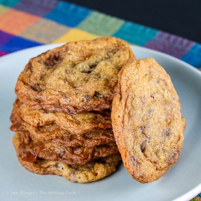 Butterfinger Chocolate Chip Cookies #Choctoberfest (Gluten Free)