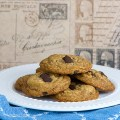 Gluten Free Chocolate Chunk Toffee Cookies © 2019 Jane Bonacci, The Heritage Cook