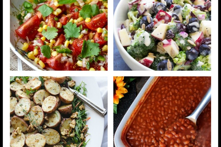 Collection of a dozen BBQ Sides and Salads compiled by Jane Bonacci, The Heritage Cook
