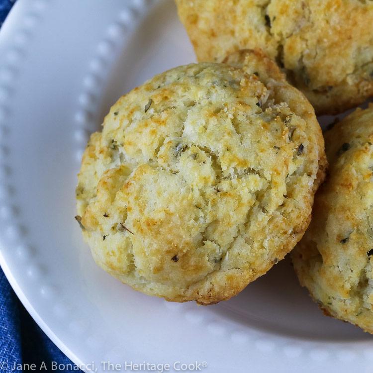 Easy Gluten Free Cream Biscuits © 2019 Jane Bonacci, The Heritage Cook