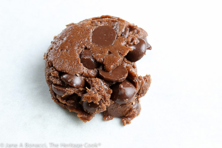 Double Chocolate Cookies from Dessert Cooking for Two cookbook © 2019 Jane Bonacci, The Heritage Cook