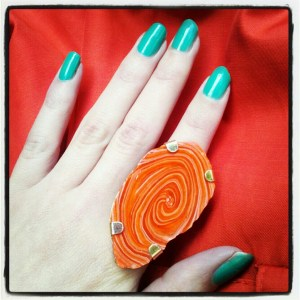 turquoise nails, stone jewelry
