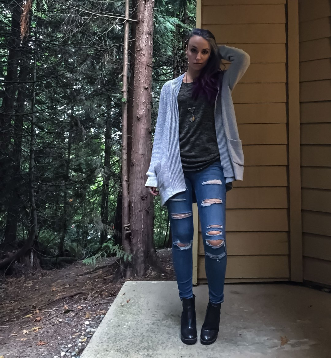 cardigan autumn outfit