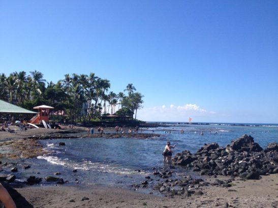 Beach in Kona Hawaii