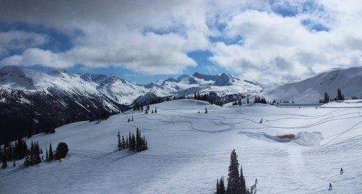 peak 2 peak gondola whistler view