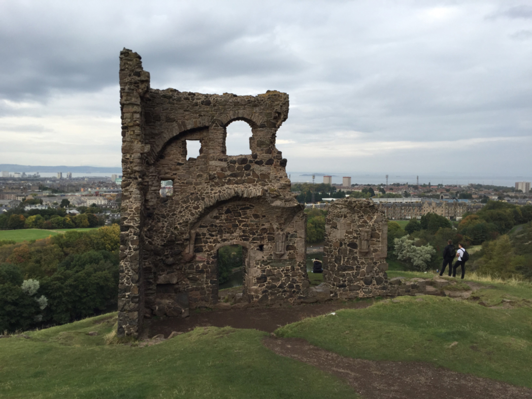 st anthony's chapel ruins