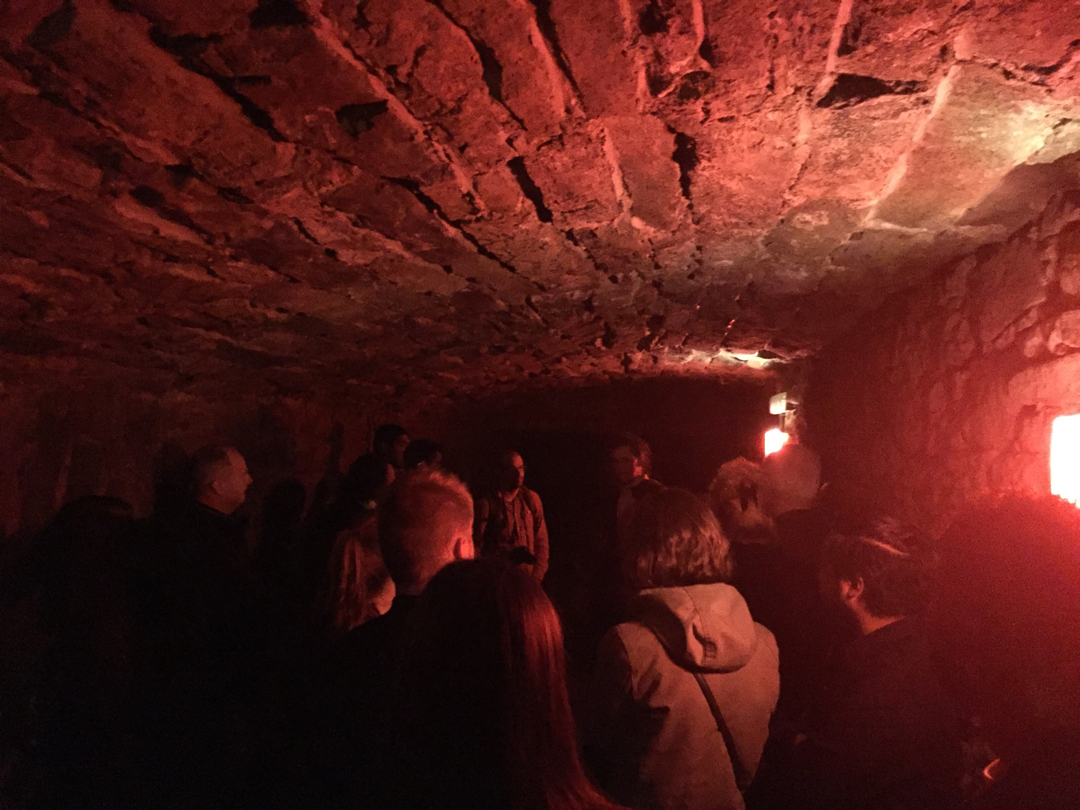 inside an edinburgh vault