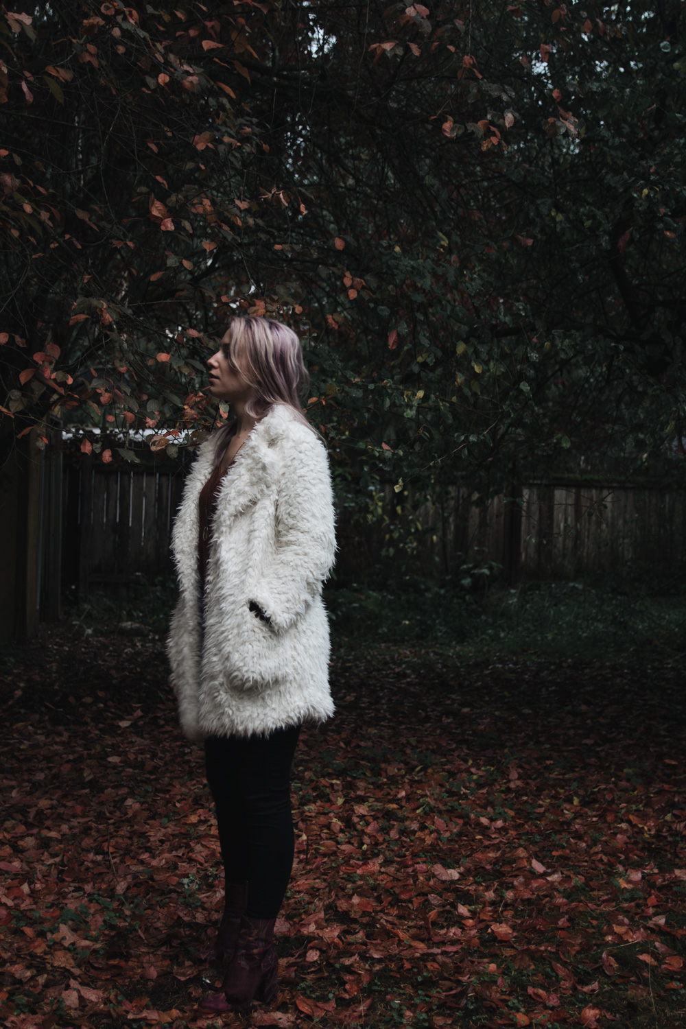 faux fur teddy bear coat