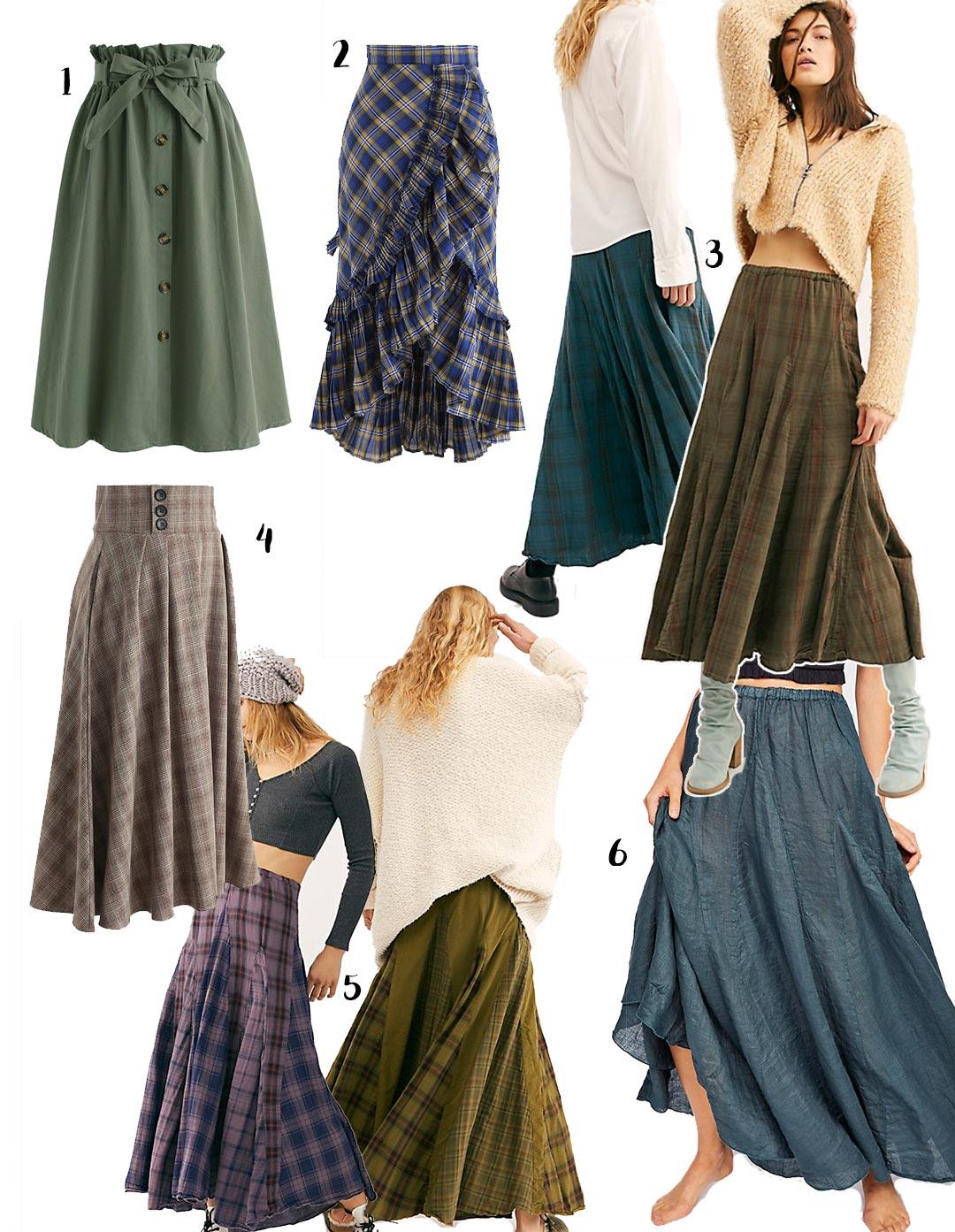 outlander inspired skirts