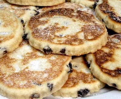 Welsh cakes, Toast and Wyke Farm Butter