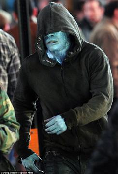 Фото со съемок «Нового Человека-Паука 2» - Электро