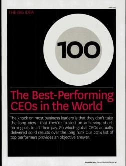HBR_The Best-Performing CEOs in the World