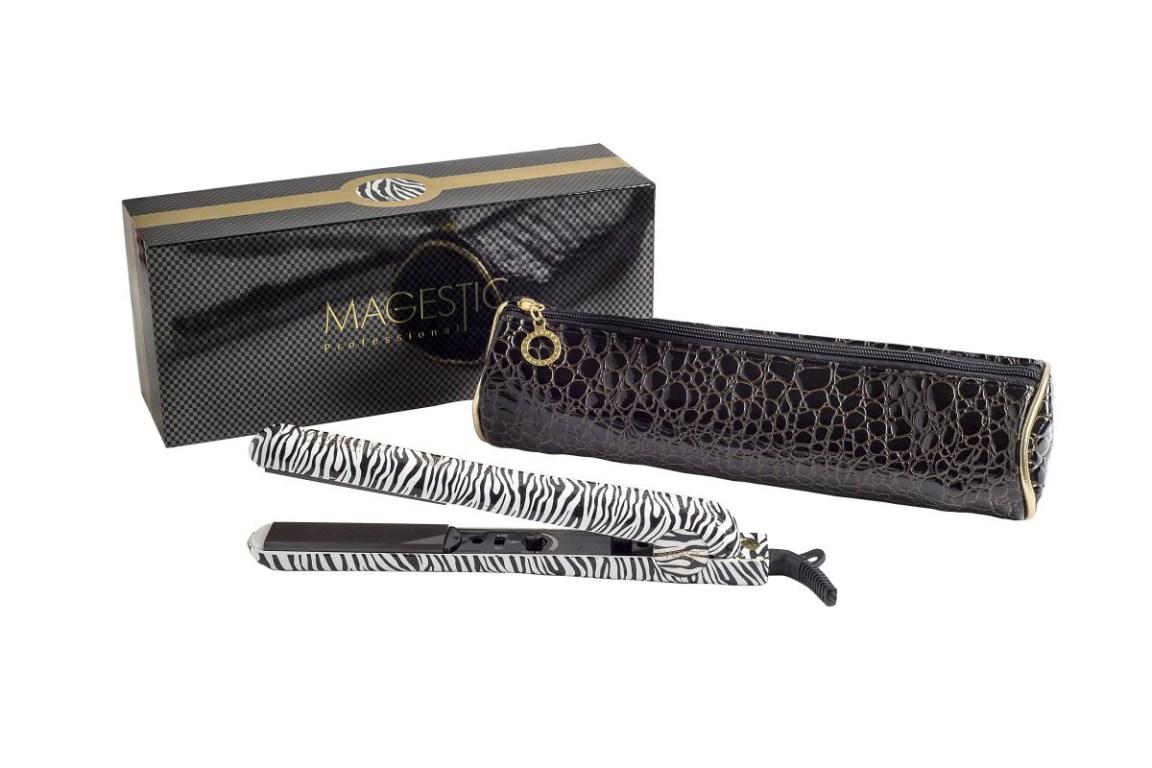 Platinum Zebra Hair Straightener
