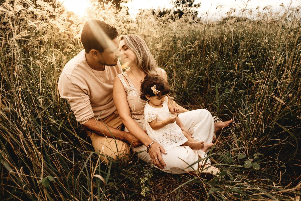 engagement photos with kids