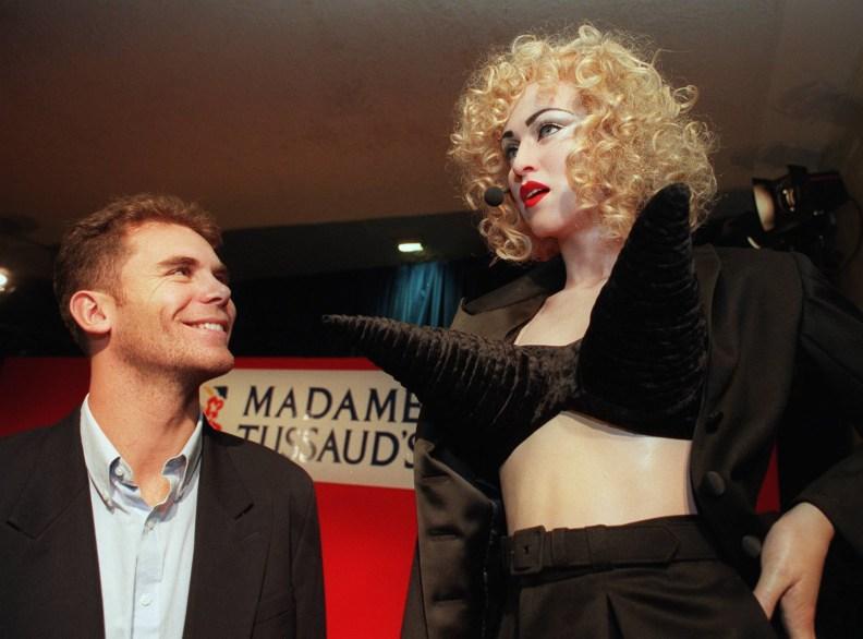 Madame Tussaud's comes to Melbourne. Wayne Carey checks out Madonna.