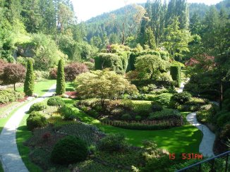 The Butchart Gardens – A Magical and Refreshing Garden