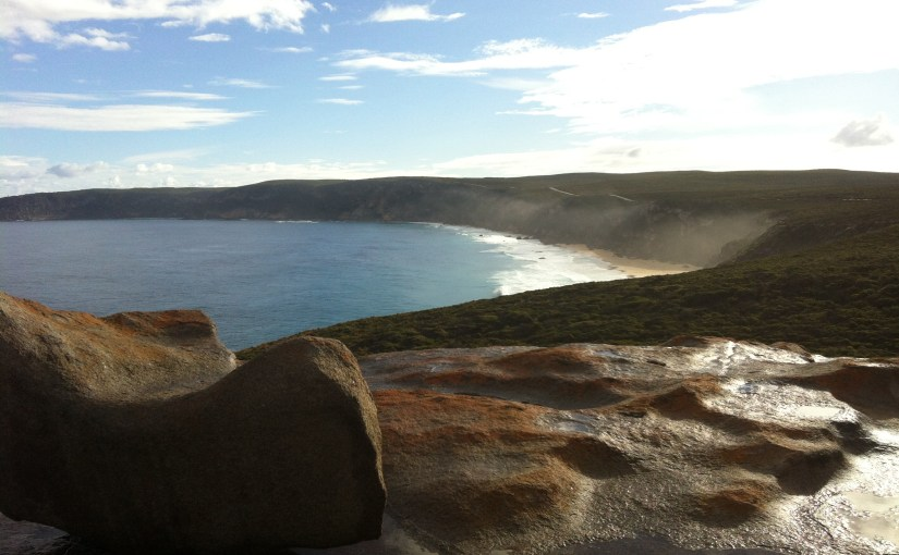 Panoramic View : At Remarkable Rocks Lookout