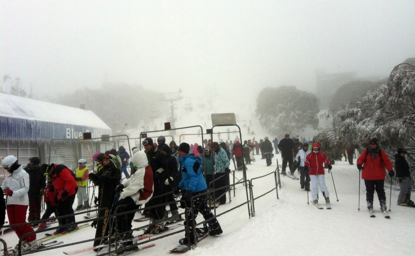 Precious Moment In The Mountain : Mount Buller