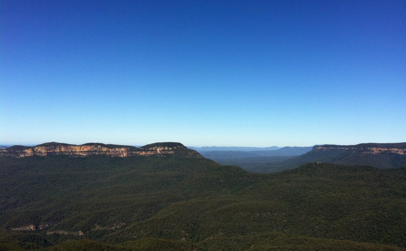 Panoramic View : Blue Mountains