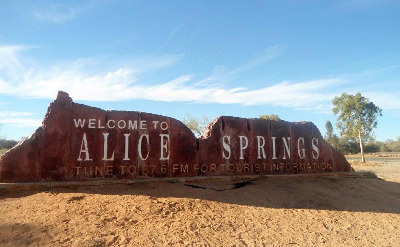 Name Of The Place : Alice Springs