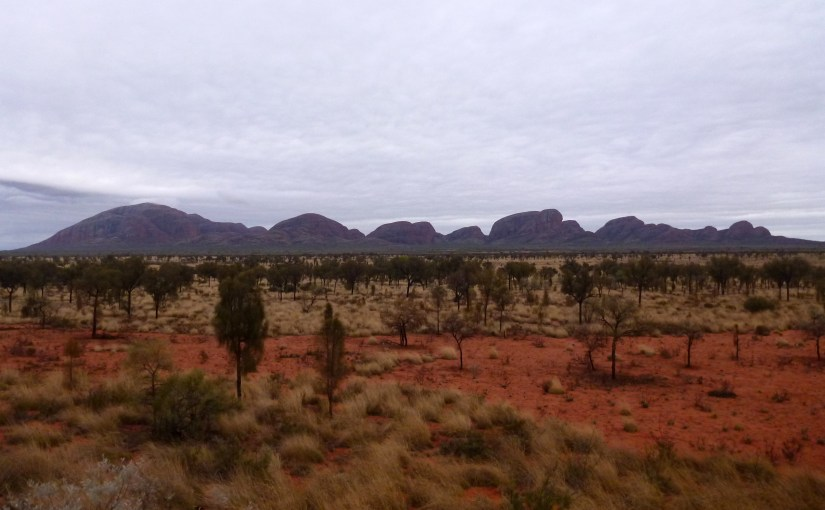 Panoramic View : Kata Tjuta (Mount Olga)