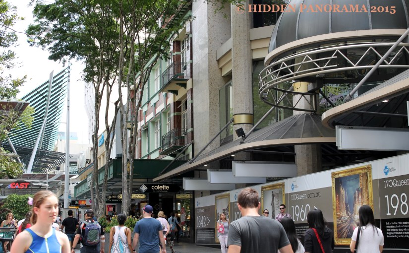 Life In The Metro : Near At Brisbane Arcade