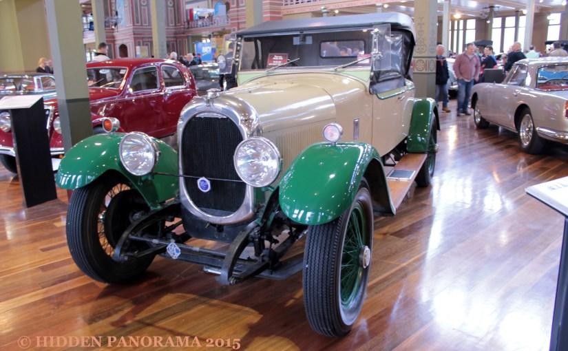 Theme : Classic Car – 1923 Chenard et Walcker 3L Roadster